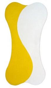 yellow white [sun] by leon polk smith